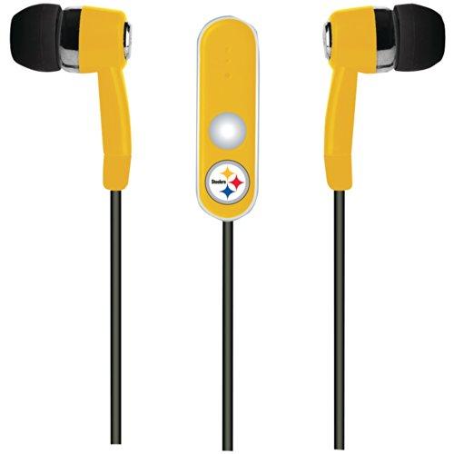 NFL Freisprech-Kopfhörer mit Mikrofon, Team Color, OS (Steeler Kopfhörer)