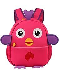 Y-BOA Enfant 3-6Ans Sac à Dos Maternelle Pingouin Cartoon Ecole Loisir Fille Garçon