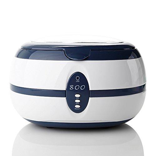 Zogin VGT-800 Pulitore Ultrasuoni Lavatrice ad Ultrasuoni per Pulizie Complete di Gioielli, Occhiali, Anelli, Orecchini, Braccialetti, Schede Elettroniche - 600ML
