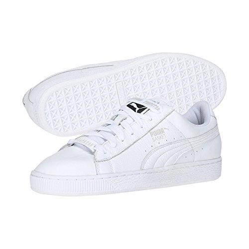 Puma x Trapstar Basket chaussures 8,0 white/glacier