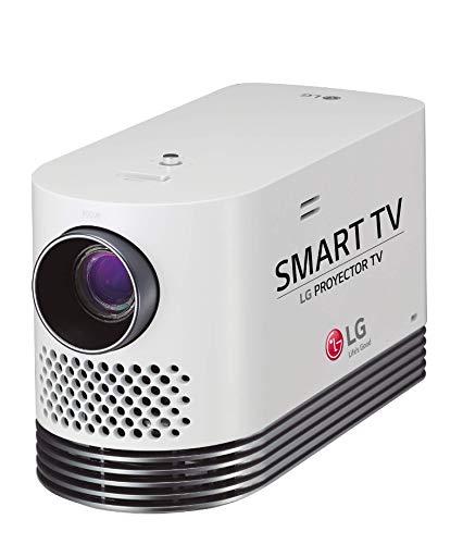 LG Beamer HF80LSR bis 304,8 cm (120 Zoll) CineBeam Laser Full HD Projektor (2000 Lumen, Bluetooth Sound, Laser 20000) weiß