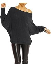 Bestyledberlin Damen Pullover, Strick Pulli t35p