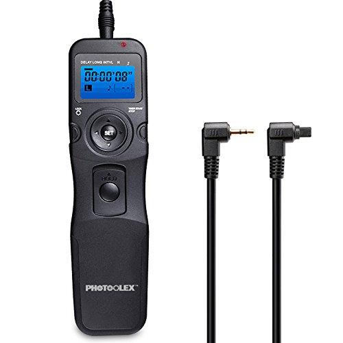 Galleria fotografica PHOTOOLEX T710C Telecomando Intervallometro Scatto Remoto LCD Timer per Canon EOS 1300D / 1200D / 1100D / 1000D / 750D / 700D / 650D / 600D / 550D / 500D / 450D / 100D / 5D Mark II / 7D / 70D / 60D / 30D / 20D / 1D X / 1D Mark II / 1D Mark III e Pentax