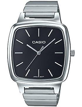 Casio Collection – Unisex-Armbanduhr mit Analog-Display und Edelstahlarmband – LTP-E117D-1AEF
