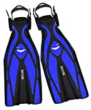 Seac Unisex - Erwachsene F1 Ultra Light Underwater Fins, only 730 Grams for High Performance in Diving, Adjustable...