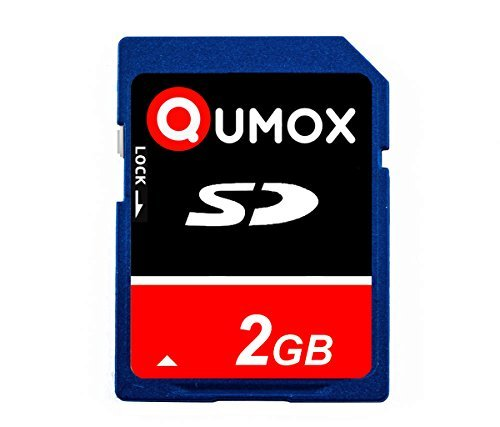 QUMOX 2GB SD Memory Card Karte Speicherkarte für Kamera Phone mp3 Mp4 Mp5 fm Transmitter