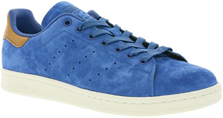 adidas Originals Stan Smith Schuhe Herren Echtleder Sneaker Turnschuhe Blau BB0043