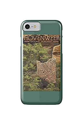 Hovenweep National Monument, Colorado - Square Tower (iPhone 7 Cell Phone Case, Slim Barely There)