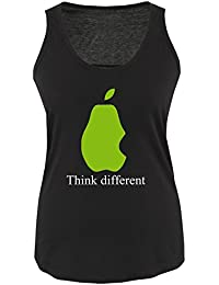 THINK DIFFERENT - Damen Tank Top Gr. S bis XXL Diverse Farben