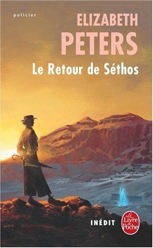 Le Retour de Sethos (Ldp Policiers) par E Peters