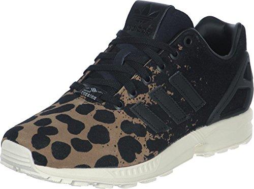 Adidas ZX Flux W, Scarpe da Ginnastica Donna, (Leopard/Noir), 41 1/3 EU