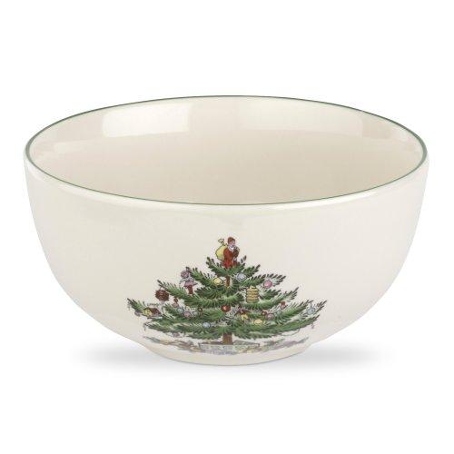 Spode Weihnachtsbaum Weihnachtsbaum, Obstsalatschüssel mehrfarbig -