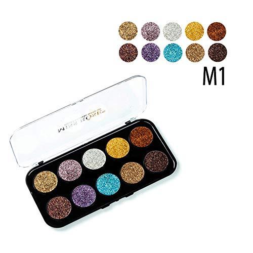 Glitter Powder Sequin Lidschatten Stage Cosmetics COS Shadow Palette Taschenlampe Powder Eye -