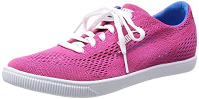 Puma Women's Glyde Lite Eng Mesh Wn's Purple Nylon Fashion Sneakers - 6 UK/India (39 EU)