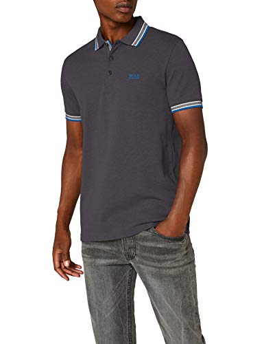 BOSS Herren Poloshirt Paddy, Grau (Dark Grey 021), X-Large