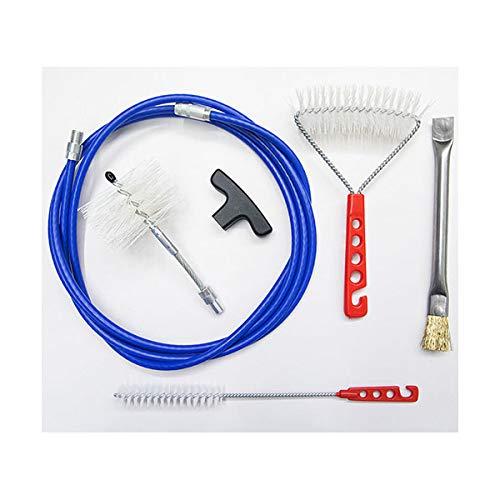 Kit 3 MT Meter + Bürsten Pellet 80 mm - Reinigung Pelletofen Rohr Ofenrohr. Kohlebürste und Ofenwände. -