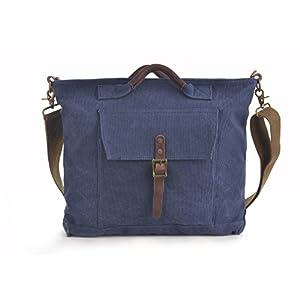 41allPQLR5L. SS300  - GOOTIUM Bolso de Hombro para Mujer, Azul Marino (Azul) - 60613NV