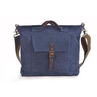 GOOTIUM Bolso de Hombro para Mujer, Azul Marino (Azul) – 60613NV