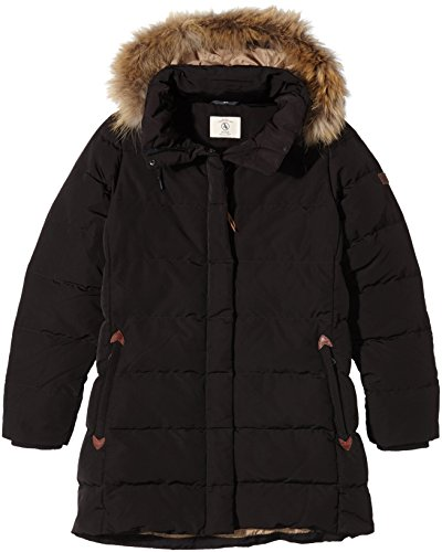 Aigle DOWNSHINE- Giubbotto da Donna, Nero (Ébène), 48