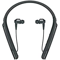 Sony WI-1000X Wireless In-Ear Noise Cancelling High Resolution Headphones with Activity Recognition,10 Hours Battery Life - Black