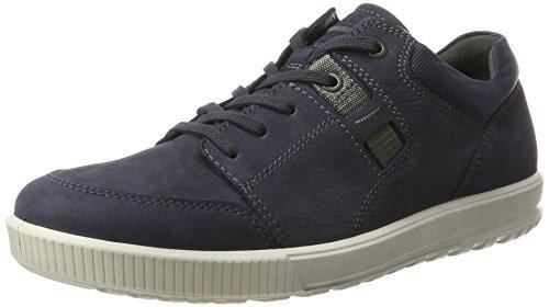 Ecco Ennio, Zapatillas Bajas Atléticas Para Hombre Azul (azul Marino)