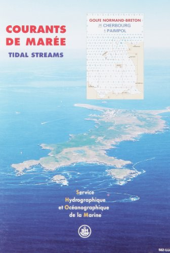 Carte marine : Courants des marées, golfe normand