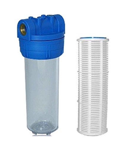 Filtergehäuse SET 10 Zoll mit 1