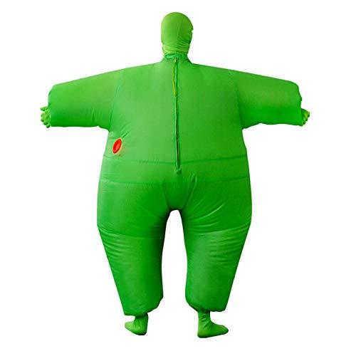 TETHYSUN Aufblasbares Ganzkörper-Kostüm, für Erwachsene, großes Fett für Halloween, Cosplay-Kleidung für Erwachsene, lustiges Cosplay-Tücher, Party-Spielzeug für Halloween, Weihnachten (Kind Aufblasbare Strauß Kostüm)