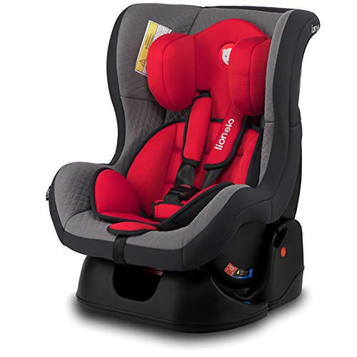 Lionelo LO-LIAM CARMINE RED Liam Kindersitz Autokindersitz Autositz 9-18kg Gruppe 0+ 1, rot, 6.7 kg