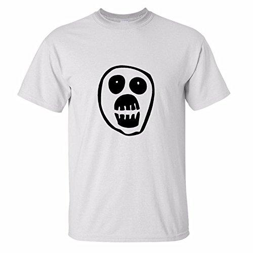 Skull The Mighty Boosh Unisex Noel Funny Cult Fielding Weird Comedy Top T-shirt