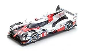SPARK-Toyota-TS050Hybrid-Le Mans 2017Coche de ferrocarril de Collection, 18s335, Color Blanco/Rojo/Negro