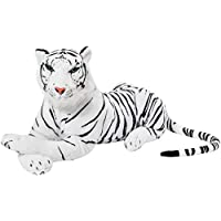MTS Large Giant Siberian Bengal Wild Tiger Soft Plush Stuffed Cuddly Toy up to 150cm