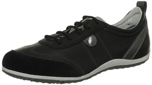 Geox D VEGA A Damen Sneakers Schwarz (Blackc9999)