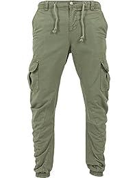 URBAN CLASSICS - Cargo Jogging Pants (olive)