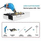 TOPQSC Elektrische Heißes Messer 150W Elektro Schaumschneider Schwamm Schneidwerkzeug Mehrzweck Heißmesser mit Großem Schlitz Brett Schneideschwamm Isolierung KT Board