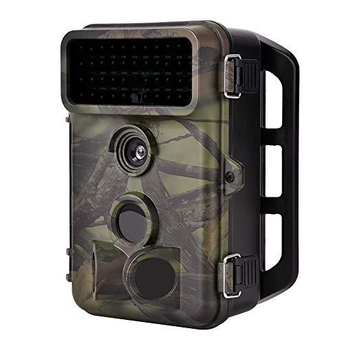 ZYG.GG Wildlife-Kamera, 16MP 1080P Hinteres Spielkamera, Nachtsicht Bewegung aktiviert IP66 wasserdicht, mit 120 ° Weitwinkel, für Wildlife Hunting und Home Security