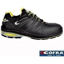 Cofra zapatos de seguridad Rapidez S1P SRC 19160nueva Jogging, transpirable, color negro