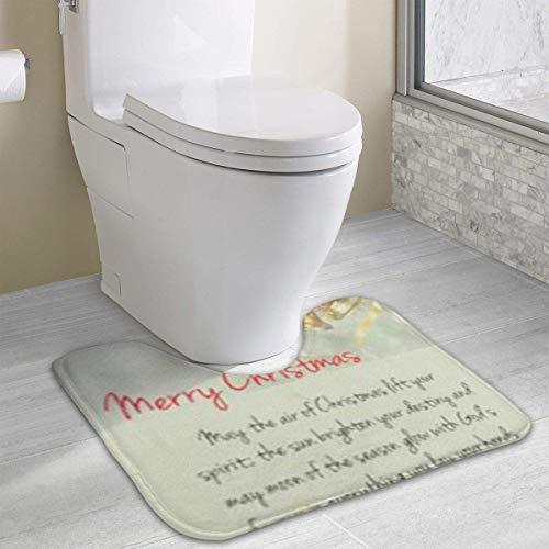Hoklcvd Personalisierte Toilette Individuelle Gestaltung Ihrer eigenen Fotos WC U-förmige MatteCartoon weiche Matte Dusche Boden Teppichboden Badezimmer - Wc Koi