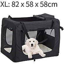 MC Star Bolsa de Perro Plegable Portátil Portador de Mascotas Transportín Perros XL 82 × 58