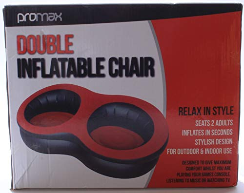 Inflatable Double Chair Flocked High Quality & Modern Funky design 2