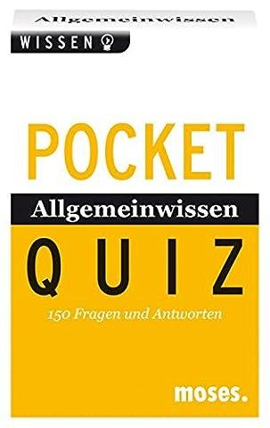 Pocket-Quiz: Allgemeinwissen von A-Z: 150 Fragen und Antworten. Für