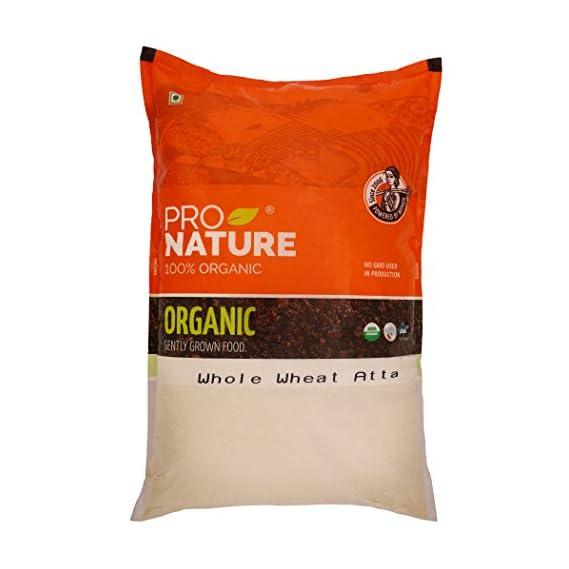 Pro Nature Atta - Whole Wheat, 5kg Pouch