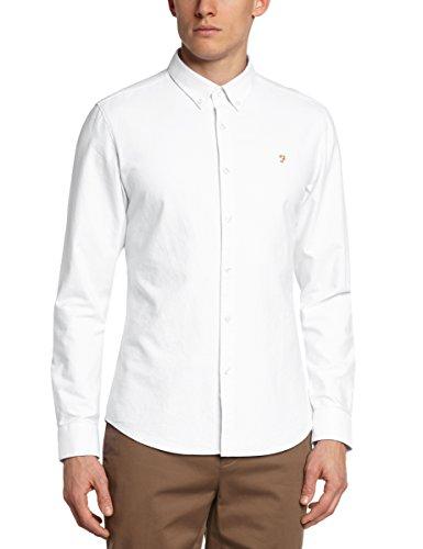 Perricone MD - Brewer, Camicia da uomo,  manica corta, collo bottone bianco(Weiß - Weiß)