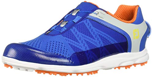 Footjoy Herren Sport Sl Golfschuhe Blau (Azul/Naranja 98031) 42 EU (Schuhe 10 Golf Footjoy Sport)
