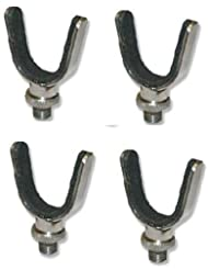 Stainless Steel U Rest /rod rest x 4 coarse fishing by NGT