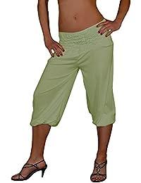 S&LU tolle kurze Damen Haremshose, Pluderhose in 4 Größen von XXS bis XXXXXXL (6XL) wählbar
