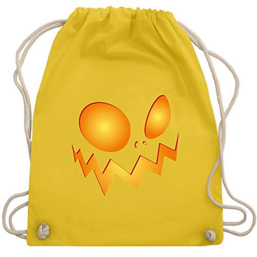 esicht groß Pumpkin - Unisize - Gelb - WM110 - Turnbeutel & Gym Bag ()