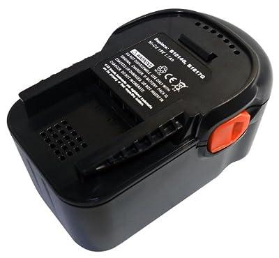 18,00V 1700mAh NiCd Kompatibler Ersatzakku für AEG BS 18 G, BSB 18G von PowerSmart