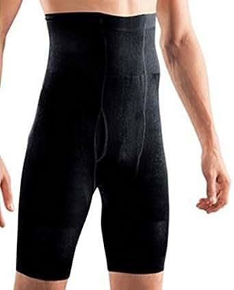 SODACODA Men's Slimming Shapewear Underwear - Sport Compression - Black (M)