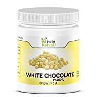 Pure White Chocolate Chips - 850 GM by Holy Natural